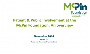 McPin PPI Overview Front Page